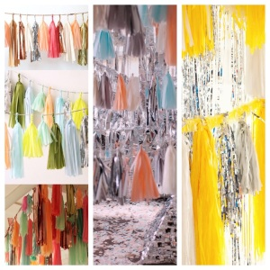 Tissue Garland Inspiration