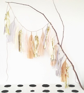 blog tassel garland