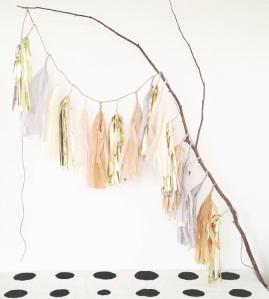 blog tassel garland